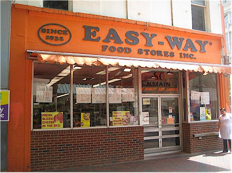 Easy-Way grocery, 80 North Main Street
